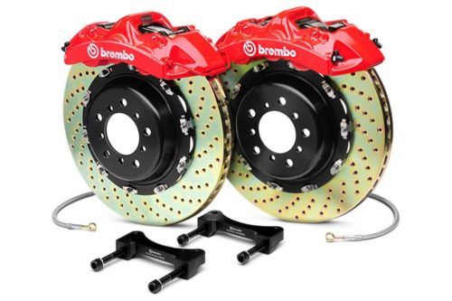 Brembo GT 355 mm Big Brake Kit with 6-Piston Calipers (Front Kit) – BMW E36 M3